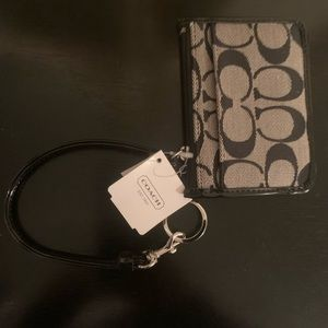 Signature Coach ID wallet & key chain